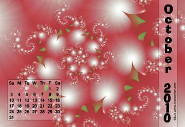 Lux Calendar 2010 Oct. by LaxmiJayaraj