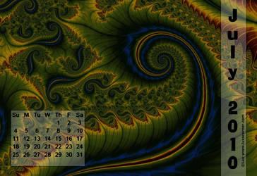 Lux Calendar 2010 Jul. by LaxmiJayaraj