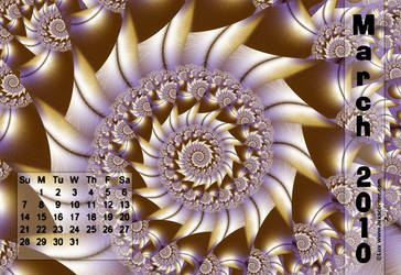 Lux Calendar 2010 Mar. by LaxmiJayaraj