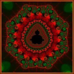 Buddha Mandala by LaxmiJayaraj