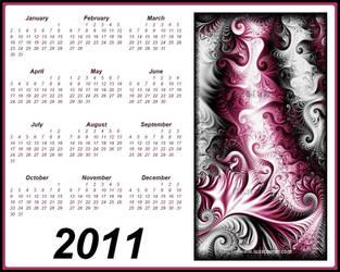 Fractal Calendar 2011 by Lux. by LaxmiJayaraj