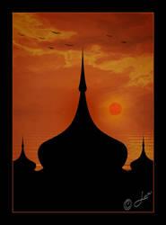 Silhouette... by LaxmiJayaraj