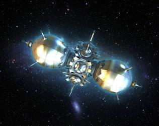 Space Station... by LaxmiJayaraj