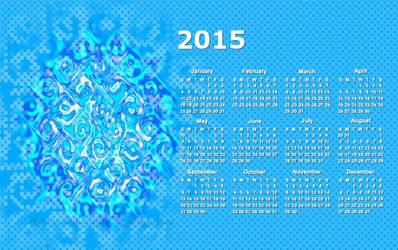Calendar 2015 by LaxmiJayaraj