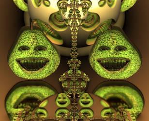 Fractal Pears... by LaxmiJayaraj