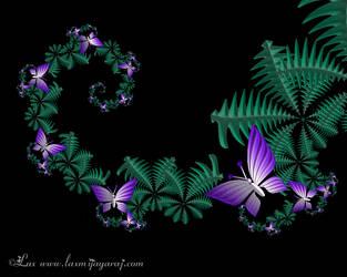 Butterfly Garden by LaxmiJayaraj