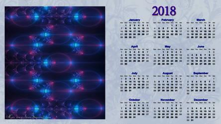 Calendar 2018 by LaxmiJayaraj