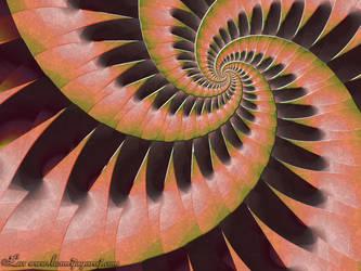 Spiral Julia by LaxmiJayaraj