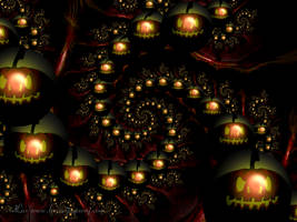 Jux-o'-lantern by LaxmiJayaraj