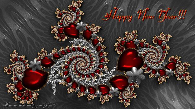 Happy New Year.... by LaxmiJayaraj