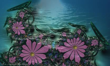 Waterlilies by LaxmiJayaraj