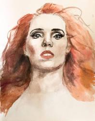 Simone Simons Study by IgniteTheFlames