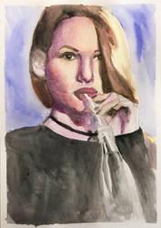 Cheryl Blossom portrait by IgniteTheFlames