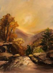James Gurney Landscape Study by IgniteTheFlames