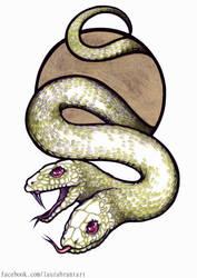 Snake Heads by Ghorvega