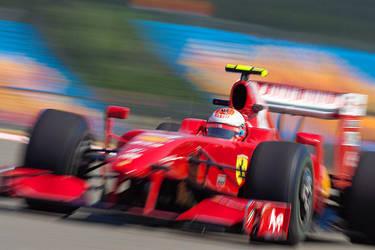 Kimi in Turkey by F1Snapper