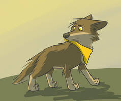 Random dog by LeeyFox