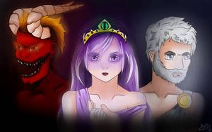 THE GODS OF MIANITE by NinjaCupcakesCanFLY