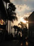 Sunset Alley by NaturalBornCamper