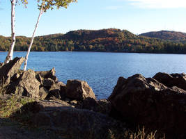 Automn lake by NaturalBornCamper