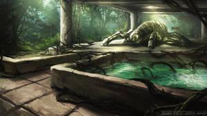 Jungle Ruins by daemonstar