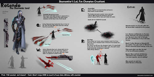 LoL Fan Champion Creations :Rosendo by daemonstar