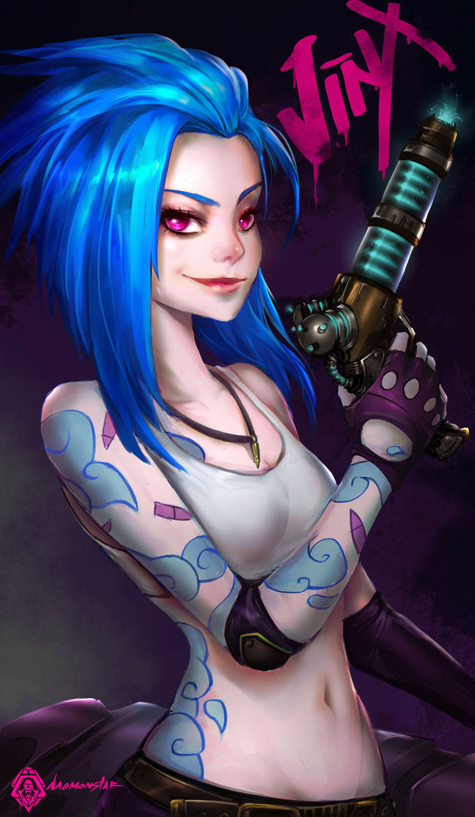 JiNX by daemonstar