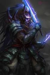 Samurai Yokai by daemonstar