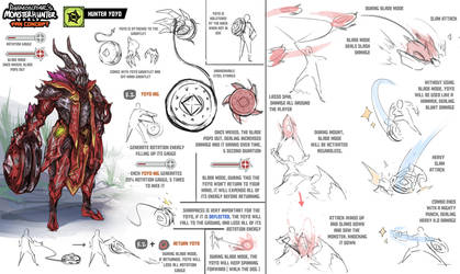 Monster Hunter World Fan Concept - Hunter Yoyo by daemonstar