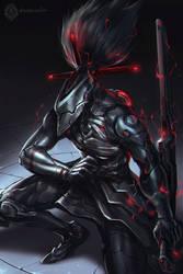 Cyborg Ninja by daemonstar