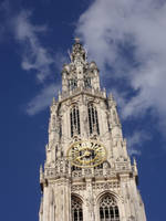 Cathedral in Antwerp 2 by Grumzz