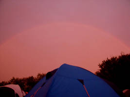 Rainbow Camping by Grumzz