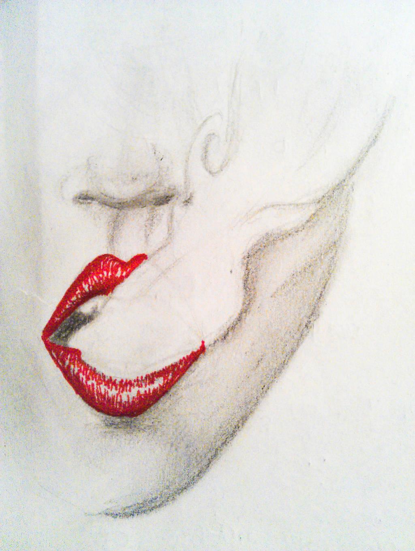 Smokey lips by Grumzz