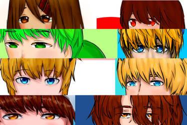 All my Eyes by PoBsheep2947