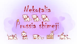 Nekotalia: Prussia shimeji by uncut-adventure
