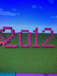 2012 Minecraft by Toon-girl234
