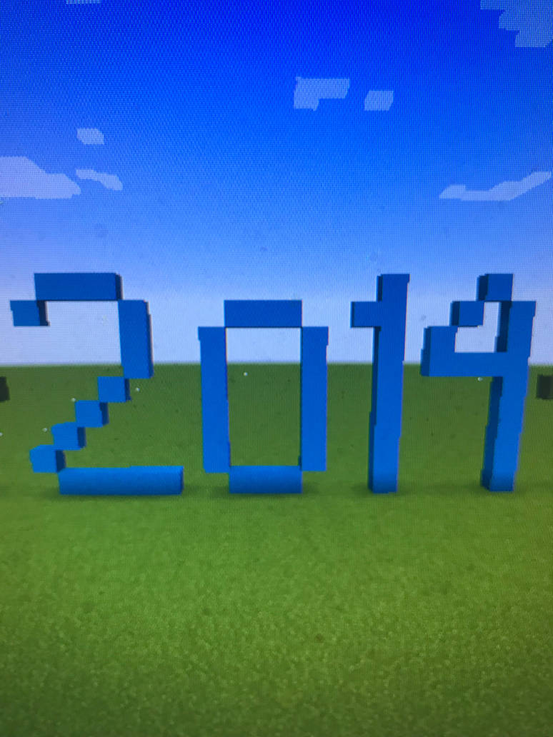 2014 Minecraft  by Toon-girl234