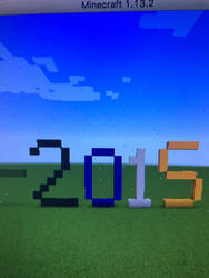 2015 Minecraft  by Toon-girl234
