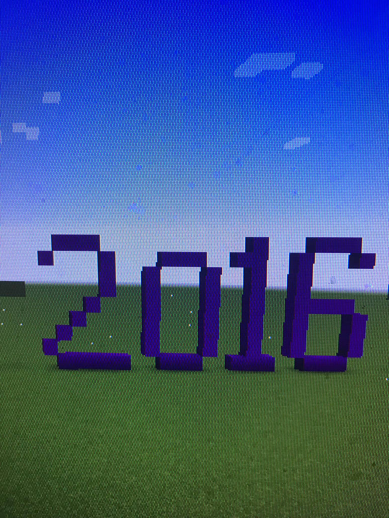 2016 Minecraft  by Toon-girl234
