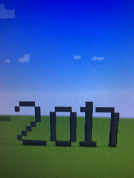 2017 Minecraft  by Toon-girl234