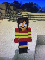 Frask in Minecraft  by Toon-girl234