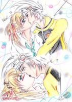 Just Kissing - Soul x Maka by Aya-Kitagawa