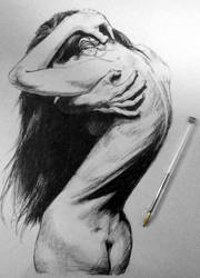 ballpen bodyscape by caratulion