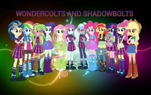 Equestria Girls Friendship Games Wallpaper by ShadowTheKillerX