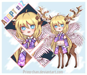 [OPEN] Adopt #12 - Lovely Deer by Prino-chan