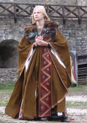 Larp: Lady in brown by Iardacil-stock