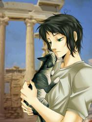 Hetalia - Greece by Rowein