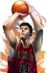 Mitsui - Slam Dunk by Rowein