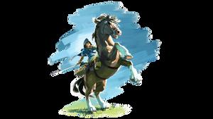 Rider Link Render by Leafpenguins