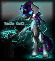 Commission: Tesla Coil by RalekArts